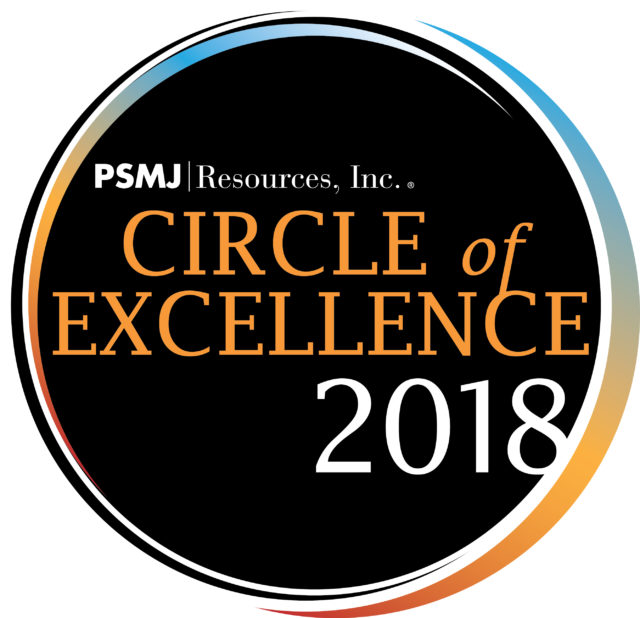 Image ofGLOTMAN•SIMPSON RECIEVES A SPOT IN PSMJ'S 2018 CIRCLE OF EXCELLENCE